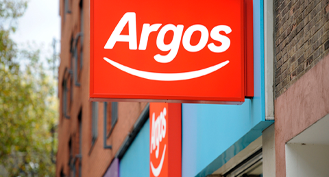 Argos reports rising sales