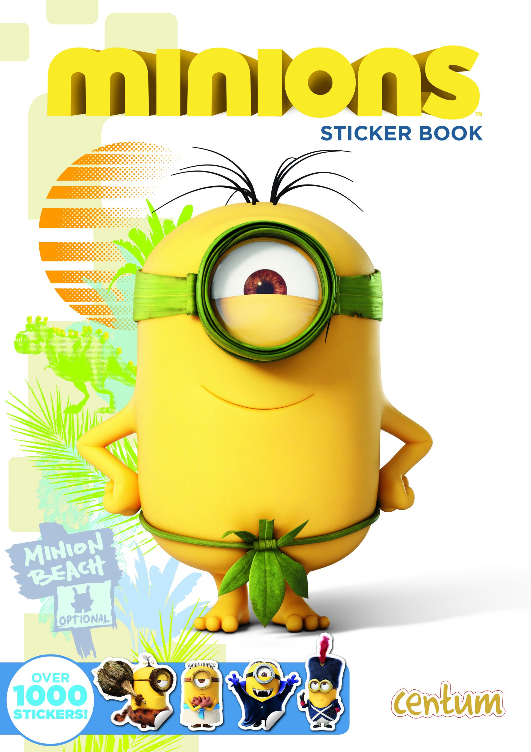 Minions Sticker Book SUM15 Cover with 7.5mm Spine.indd