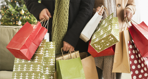 'shop early, start wrapping, enjoy Christmas' campaign