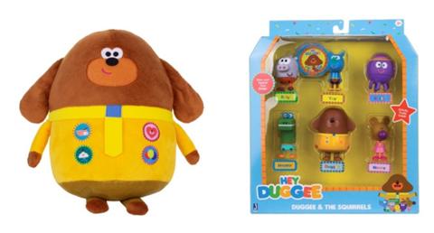 Hey Duggee Soft Plush Bear Toy