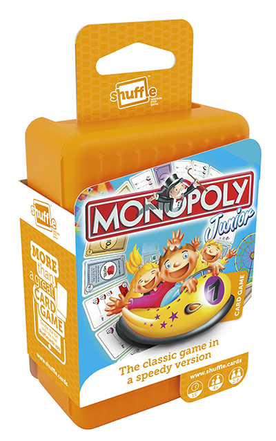 Monopoly Junior Card Game Joins Shuffle Family Toy World Magazine The Business Magazine With A Passion For Toystoy World Magazine The Business Magazine With A Passion For Toys