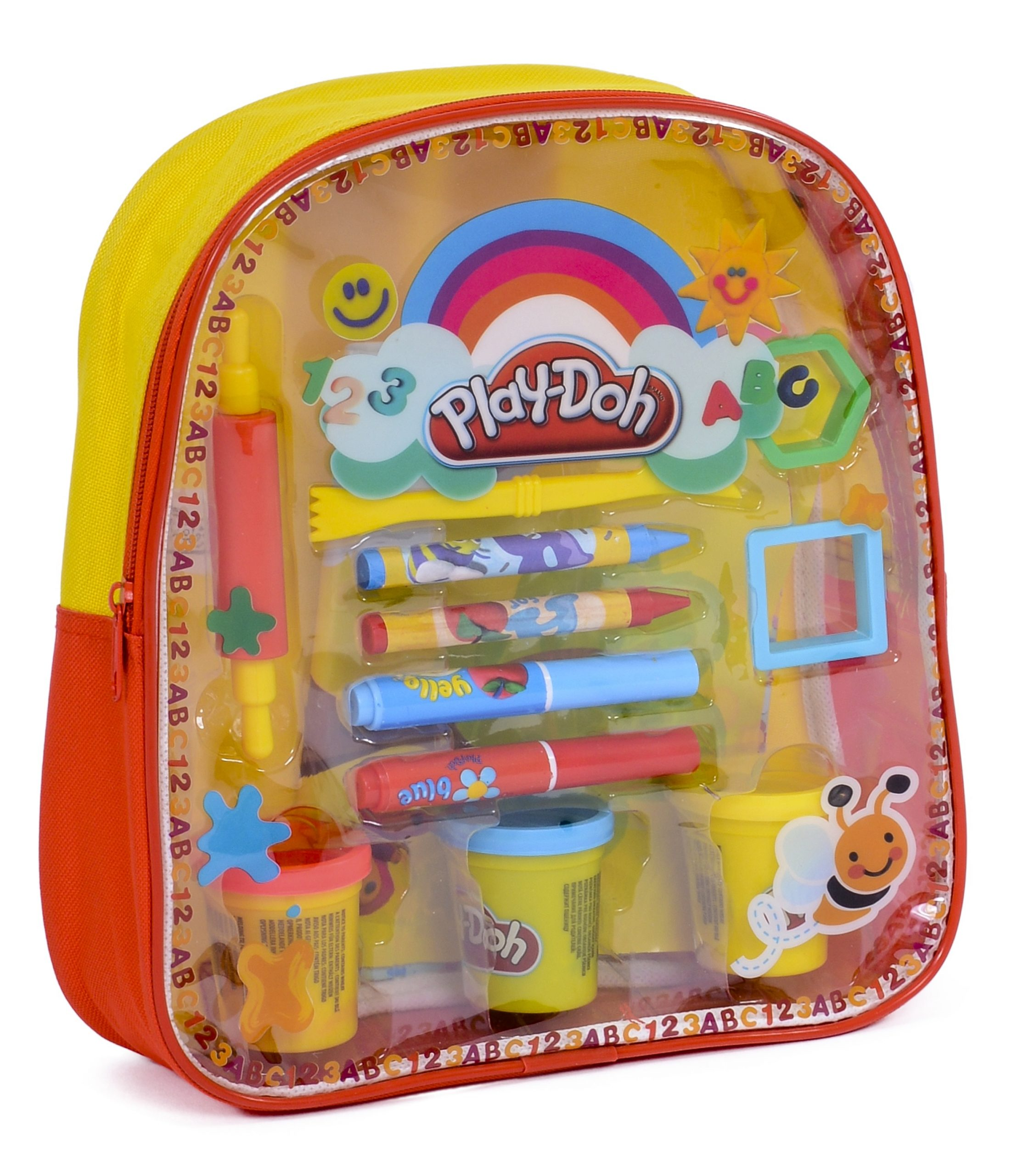 Play Doh - filled backpack