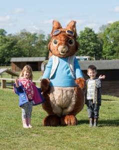Rabbit with children