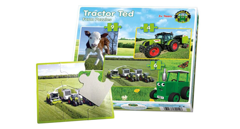 Tractor Ted-480