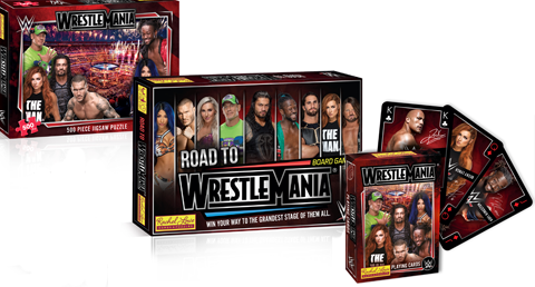 Rachel Lowe Launches Wwe Road To Wrestlemania Board Game Toy World Magazine The Business Magazine With A Passion For Toystoy World Magazine The Business Magazine With A Passion For Toys
