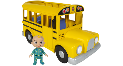 Cocomelon toys yellow bus