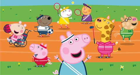 Peppa Pig summer Olympics