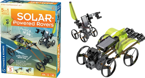 Alternative energy solar powered rovers
