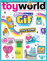 July Toy World front cover