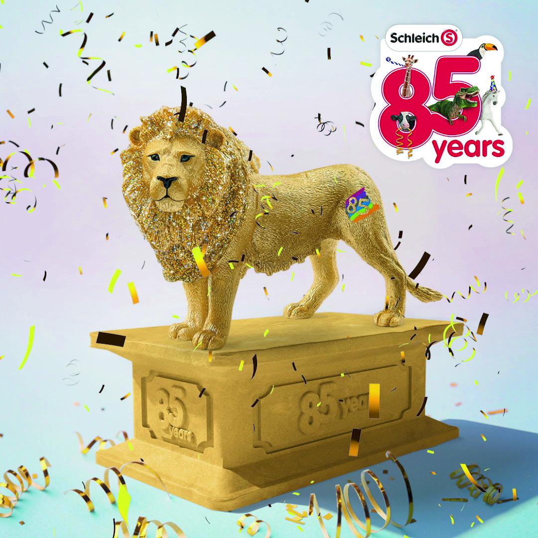 Limited edition golden lion
