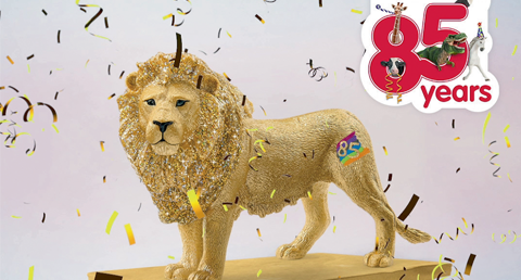 Limited edition golden lion