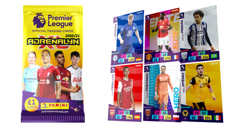 Panini's Official Premier League Adrenalyn XL Trading Cards