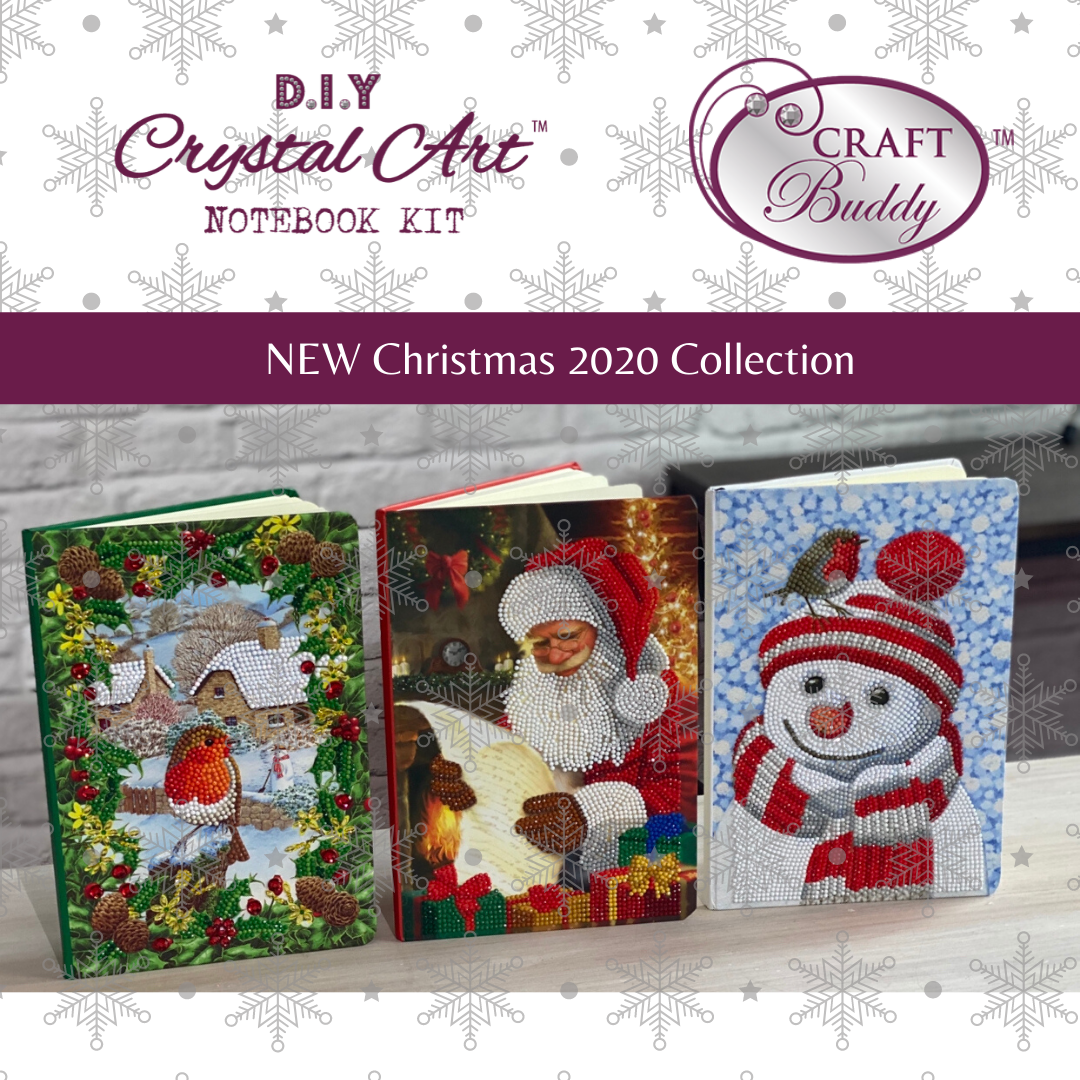Craft Buddy Christmas Crystal Art