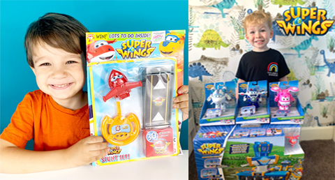 Alpha Group UK Super Wings Summer Campaign