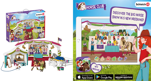 Schleich expands digital offering for Horse Club