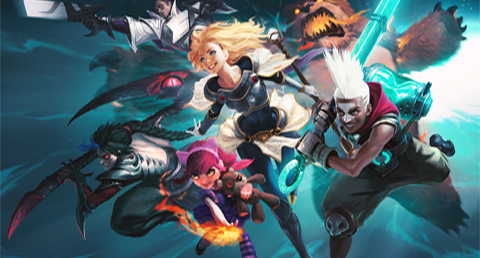 Spin Master League of Legends Riot Games