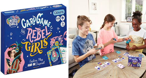 Card Game for Rebel Girls
