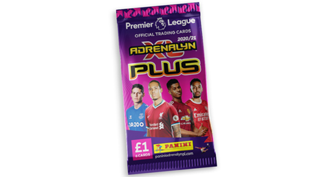 Panini's Official Premier League Adrenalyn XL Plus Trading Cards