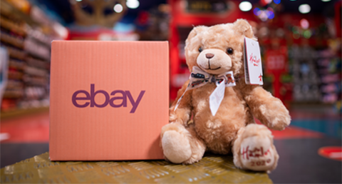 Hamleys launches its first eBay shop