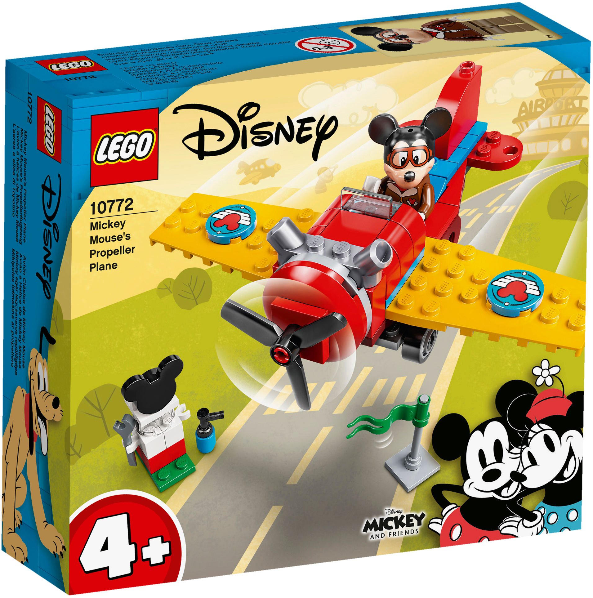 Lego Disney Mickey and Friends Mickey Mouse's Propeller Plane
